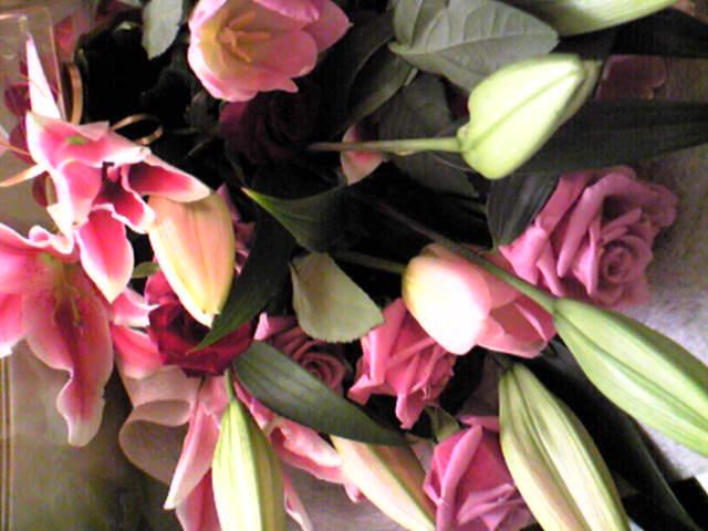 お花で気分がやわらぐ